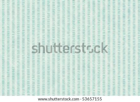 green blue seersucker texture in pastel tones, great baby boy background - stock photo