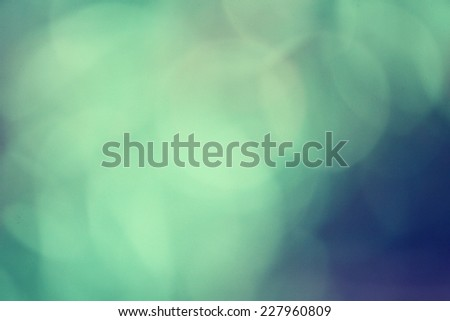 Green bokeh - stock photo