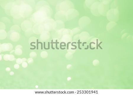 Green Bokeh Background/ Green Bokeh Background - stock photo