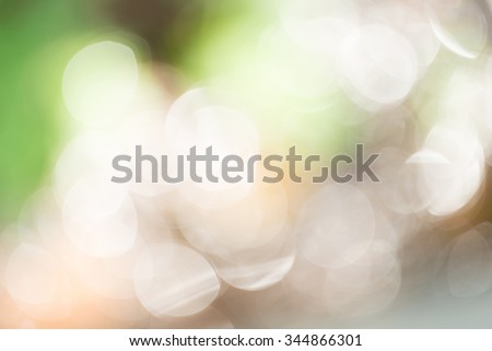 Green bokeh glitter defocused lights abstract background