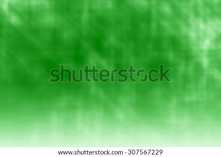 Green bright background with reflection
