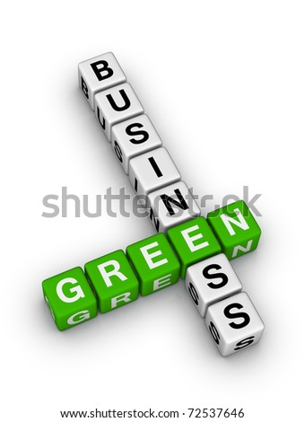 Green Business - stock photo
