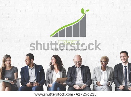 Green Business Environment Ecology Concept - stock photo