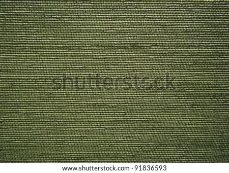 Green canvas closeup 2. - stock photo