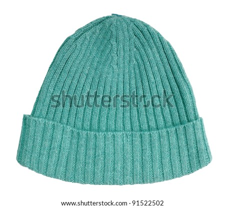 green cap - stock photo