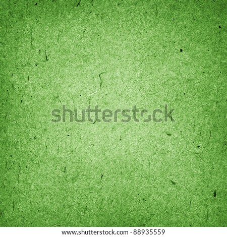 green cardboard background - stock photo