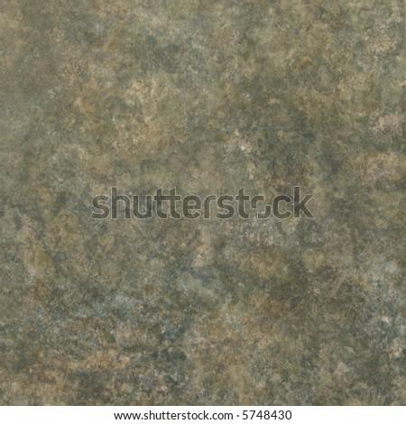 Green ceramic tile - stock photo