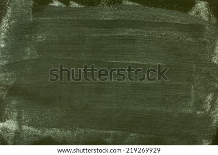 Green Chalkboard./Green Chalkboard - stock photo
