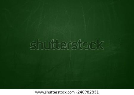 Green Chalkboard texture background - stock photo
