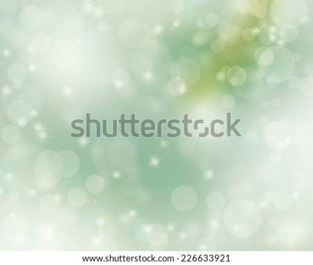 green christmas background - stock photo