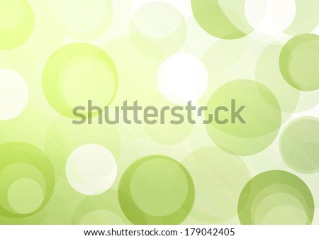 Green circles for green business