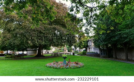 Green City Park View - stock photo