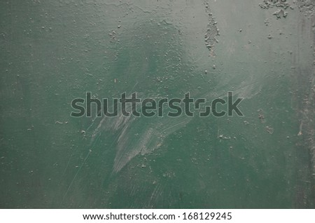 green color metal background - stock photo