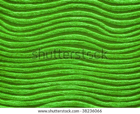 Green color  towel background