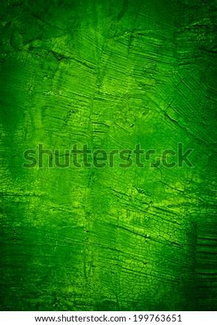 Green concrete wall texture - stock photo