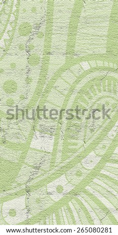 Green cover - stock photo