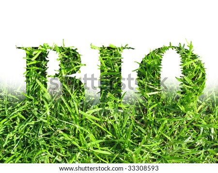 Green design - stock photo