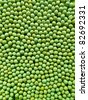 green dried peas background - stock photo