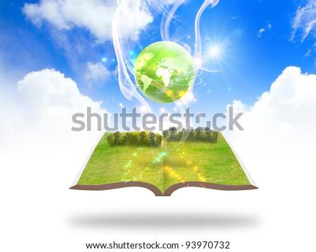green earth concept - stock photo