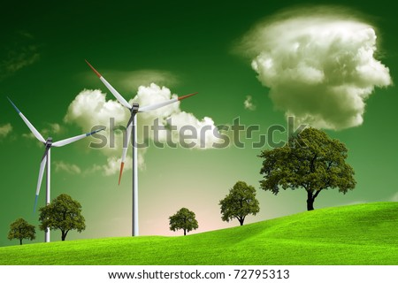 Green Eco - stock photo