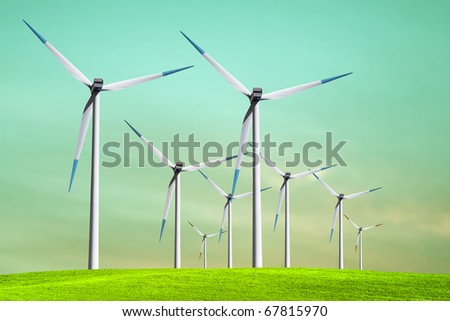 Green ecology - stock photo