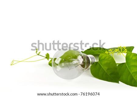 Green energy concept - stock photo