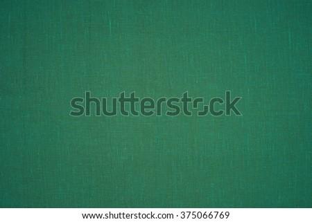 green fabric texture - stock photo