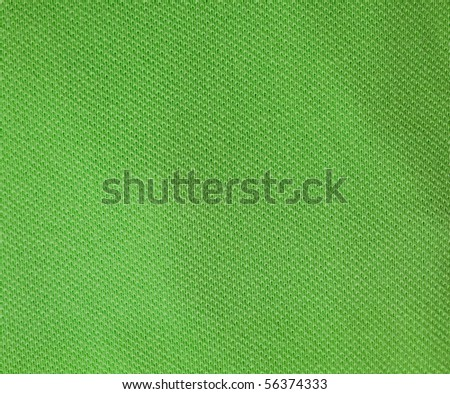 green fabric texture - stock photo