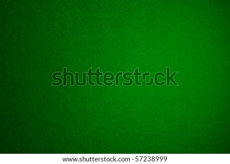 Green felt background - stock photo
