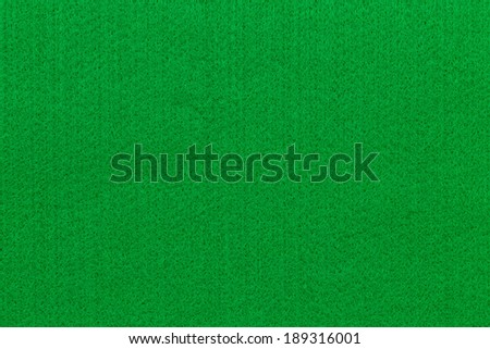 green felt fabric background - stock photo