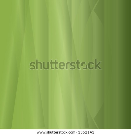 green folding background