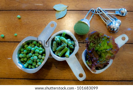 Green Foods - stock photo
