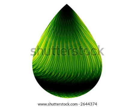 Green Fuel. - stock photo