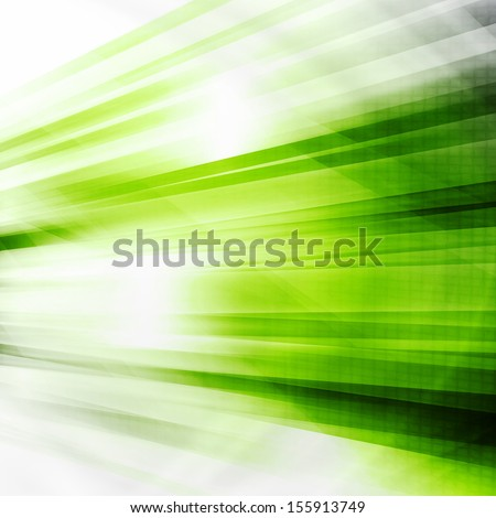 Green Futuristic Abstract Background - stock photo