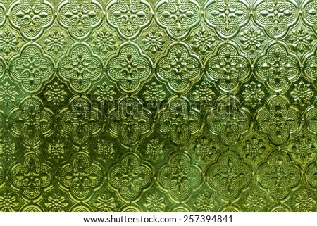 Green Glass for background