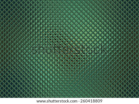 Green glass mosaic, nice tile background - stock photo