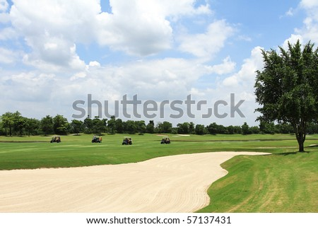Green Golf course