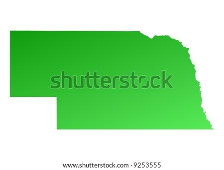 Nebraska Map Stock Images RoyaltyFree Images Vectors - Nebraska map usa