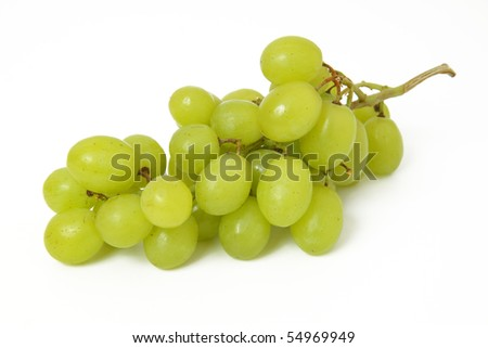 green grapes - stock photo