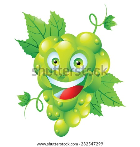 Image Gallery Smiling Grapes