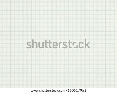 Green Graph line, paper background   - stock photo