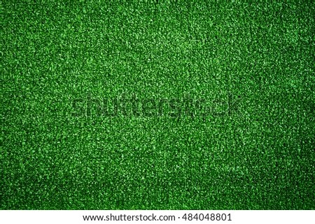green grass background, top view