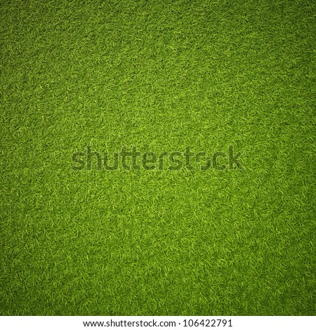 Green grass field background texture. - stock photo