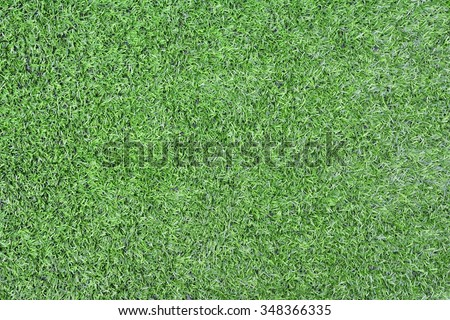 Green grass from above. - stock photo