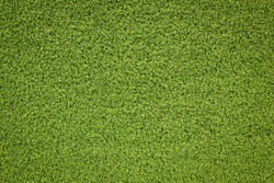 Green Grass Texture Artificial Field Landscape Top View With