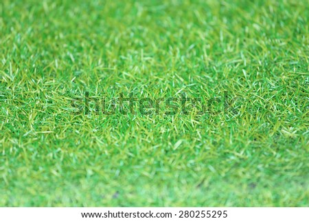 green grass texture for background (soft focus) - stock photo