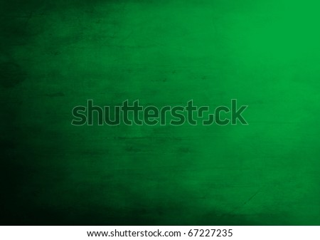 Green grunge background - stock photo