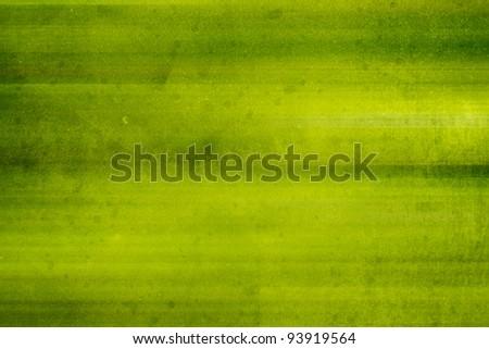 Green grunge background - stock photo