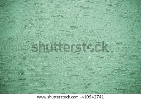 Green grunge background with scratch - stock photo