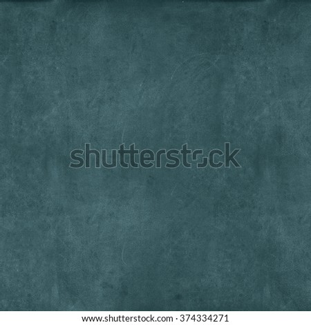 Green Grunge Classroom Blackboard Background. Chalkboard Vintage Monochrome Texture  - stock photo